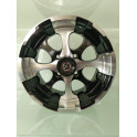 4 Jantes MSA PATRIOT 14X7